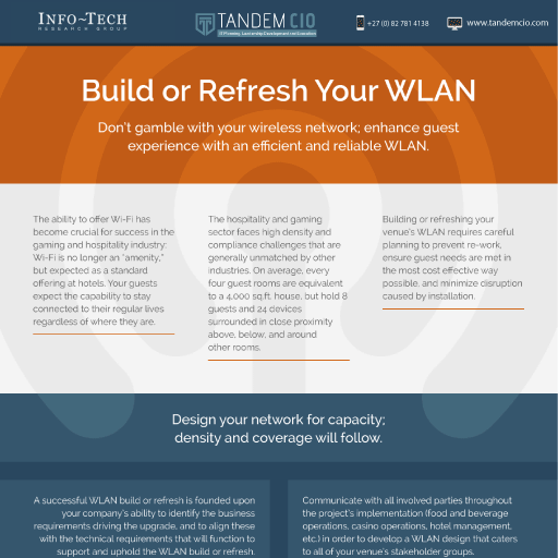 Build or refresh your WLAN