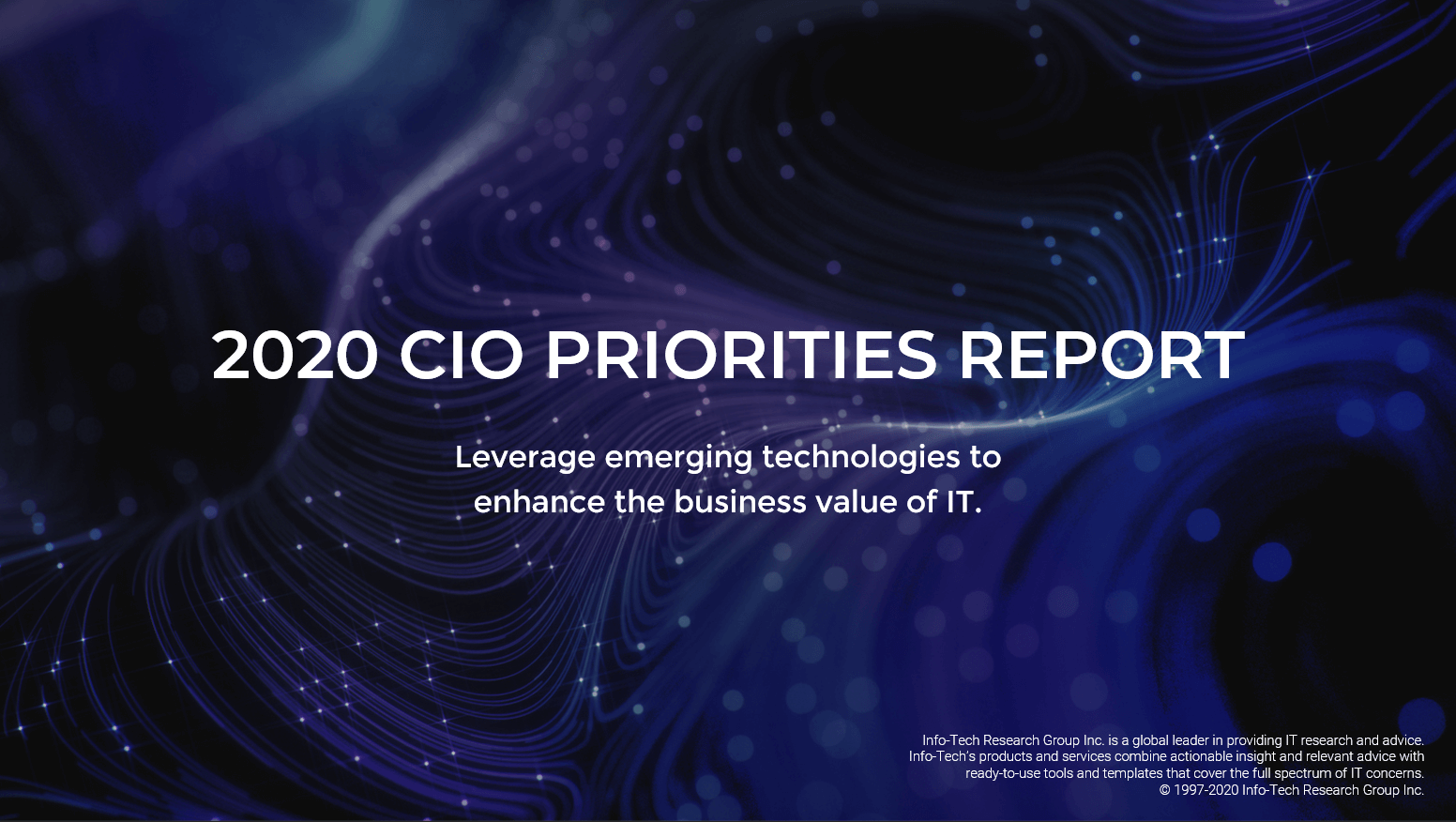2020 CIO Priorities